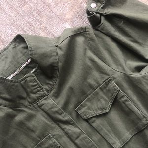 Evereve Element Green Utility Jacket